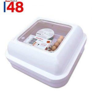 دستگاه جوجه کشی خانگی کوچک ۴۸ تایی