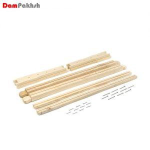 قاب چوبی بلند مونتاژ نشده